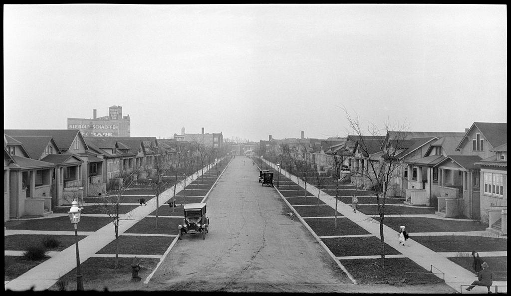 File West Arthur Avenue Rogers Park Chicago 1921 Jpg