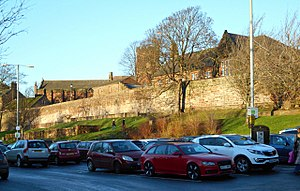 Listed buildings in Carlisle, Cumbria - Image: West City Walls, Carlisle