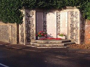 West Runton - Memorial to the fallen of Runton