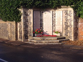 West Runton - Memorial to the fallen of Runton