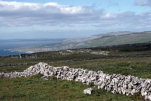 Fanore - Image: Western coastline of The Burren from Dereen West geograph.org.uk 65170