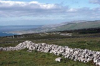Fanore Village in The Burren, Clare, Ireland