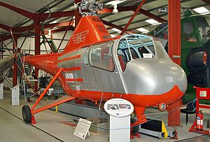 Westland Widgeon (helicopter) - Westland WS-51A Widgeon on display at the Helicopter Museum (Weston)