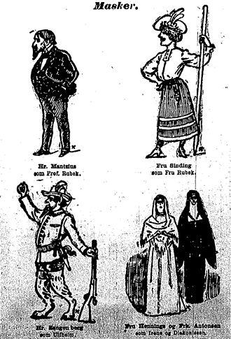 When We Dead Awaken - Ibsen's When We Dead Awaken character pictures