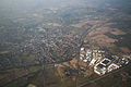 Whitchurch (view from Hot air balloon) - Shropshire - England - 6 April 2013.jpg