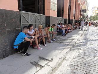 Media of Cuba - Image: Wi Fi Internet Access Havanna