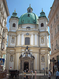 Peterskirche, Vienna
