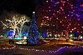 Wien - Rathausplatz, Weihnachtsdekoration.JPG