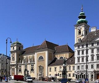 Schottenstift church building in Vienna
