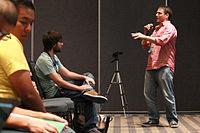 Wikimania 2015 - Joe Sutherland 12.jpg