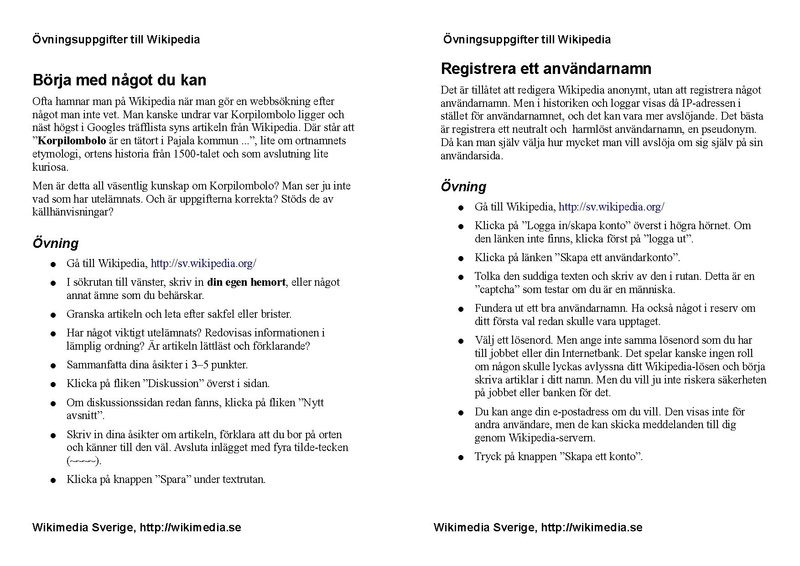 File:Wikipedia Academy 2008 Sweden Exercises.pdf