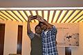 Wikipedian taking selfie at Wikipedia 15 celebration in BSK (02).jpg