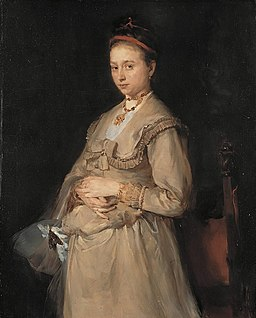Portret Miny Gedon