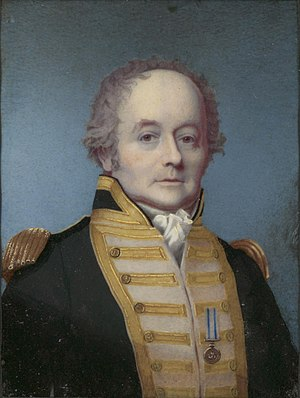 William Bligh - 1814 portrait