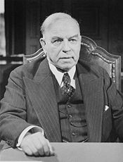 William Lyon Mackenzie King, 10th Prime Minister (1921–1926; 1926–1930; 1935–1948).