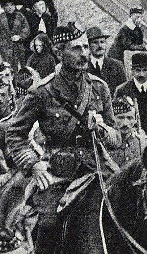 William Eagleson Gordon - Lieutenant Colonel W. E. Gordon (1914)