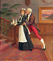 William Hounsom Byles The gentleman and the maid.jpg