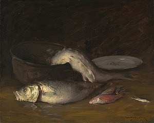 Big Copper Kettle and Fish (Fish)