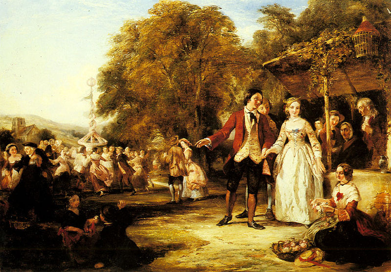 File:William Powell Frith A May Day Celebration.jpg
