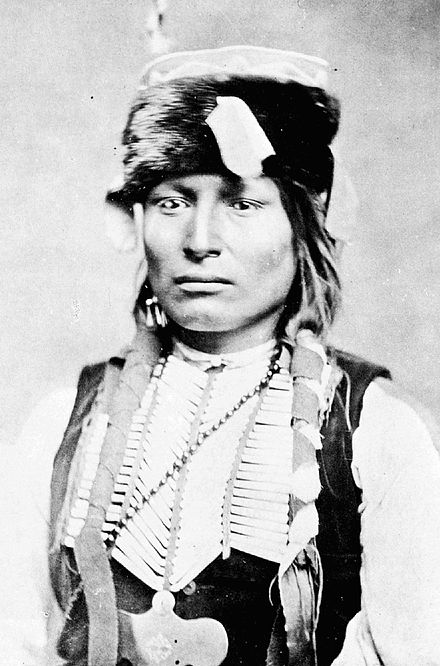 Ma-may-dayte, later known as Lone Wolf (the younger), ca. 1870 - Kiowa