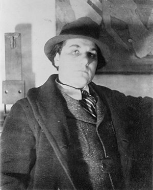 William Zorach - William Zorach circa 1917, photographed by Man Ray