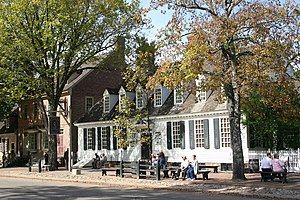 Open-air museum - Traditional buildings in Colonial Williamsburg