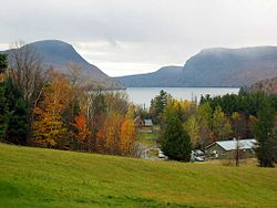 Westmore, Vermont (Mount Pisgah, Lake Willoughby, Mount Hor)
