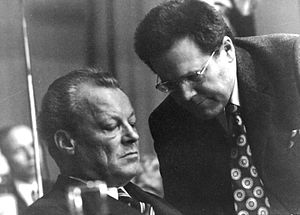 Günter Guillaume - Guillaume (right) with West German chancellor Willy Brandt, 1972–1974