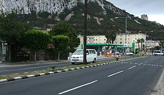 Winston Churchill Avenue - Image: Winston Churchill Avenue, Gibraltar