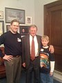 With Jim Inhofe in his office prior to our Senate tour (2330676448).jpg