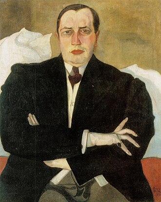 Leon Chwistek - Portrait of Leon Chwistek by Witkacy, 1913