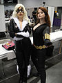 Wizard World Anaheim 2011 - Black Cat and Black Widow (5674405881).jpg