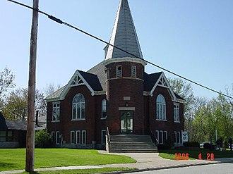 Lakeshore, Ontario - Image: Woodslee United Church