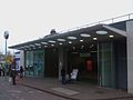 Woolwich Arsenal stn DLR entrance.JPG