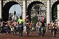 World Naked Bike Ride in London on The Mall, June 2013 (5).JPG