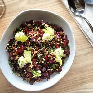 Wursthall beet salad