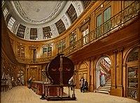 Wybrand Hendriks, De Ovale Zaal van Teylers Museum, c. 1800-1820..jpg