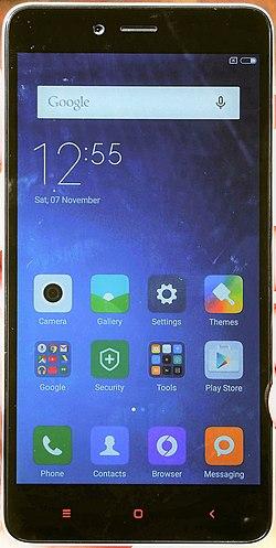 Xiaomi Redmi Note 2 Wikipedia