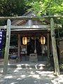 Yakushi Shrine (No.8 of Okunomiya 8 Shrines) in Miyajidake Shrine.jpg