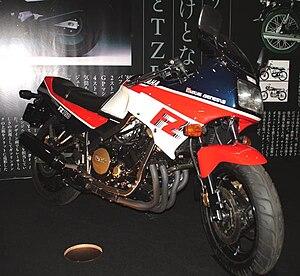 Yamaha fz750 wikivisually yamaha fz750g fandeluxe Images