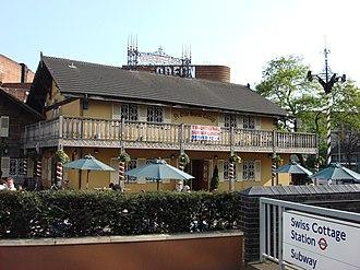 Swiss Cottage - Image: Ye Olde Swiss Cottage pub Swiss Cottage