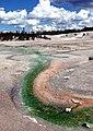 Yellowstone N.P., Thermal Stream, Norris Geyser Basin 8-2011 (6911249731).jpg
