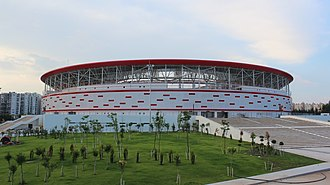 New Antalya Stadium - Image: Yeni Antalya Stadyumu 23.6.15
