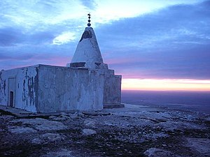 Sinjar - Yezidi Temple on Mount Sinjar, 2004.