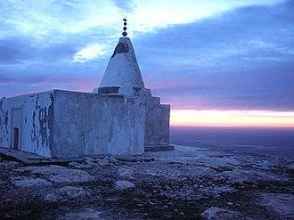 Sinjar - Yezidi Temple on Mount Sinjar, 2004.