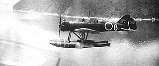 Imperial Japanese Navy seaplane which saw service during World War II