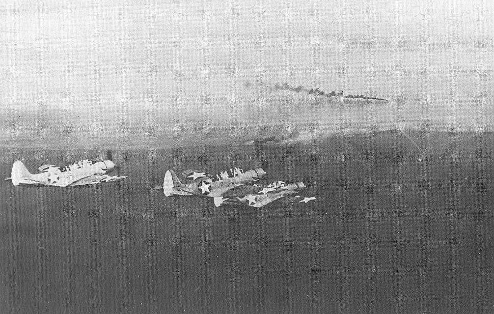 Yorktown TBD Huon Gulf March 1942