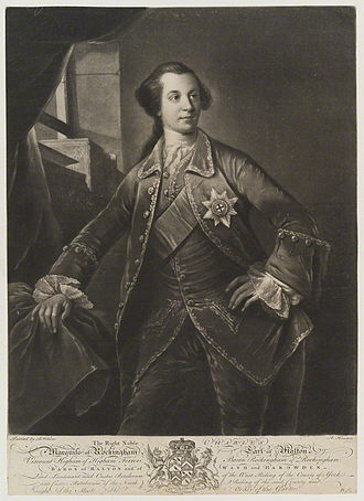 Charles Watson-Wentworth, 2nd Marquess of Rockingham - A young Rockingham
