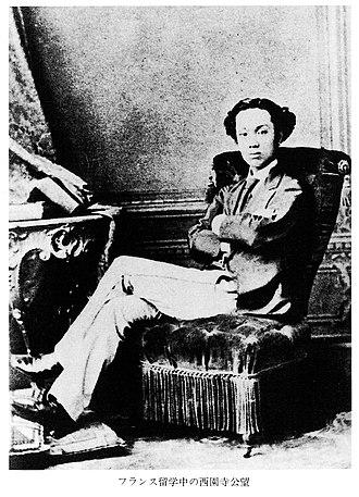Saionji Kinmochi - Studying in Paris, 1871–80