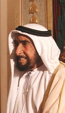 Zayed bin Sultan Al Nahyan, on a state visit to Brazil in December